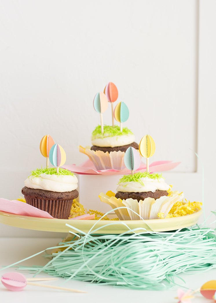 11 Modern DIY Easter Deco Ideas - A collection of awesome modern Easter crafts - www.yeswemadethis.com