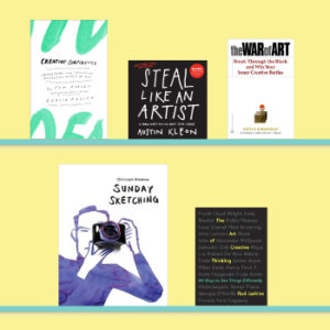 The 5 Best Books on Creativity - Must reads for a creative life - www.yeswemadethis.com