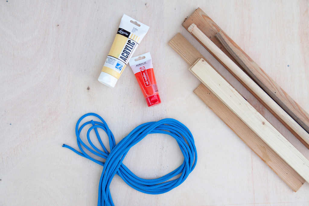 Insctructions for how to make a DIY Wooden Baby Swing