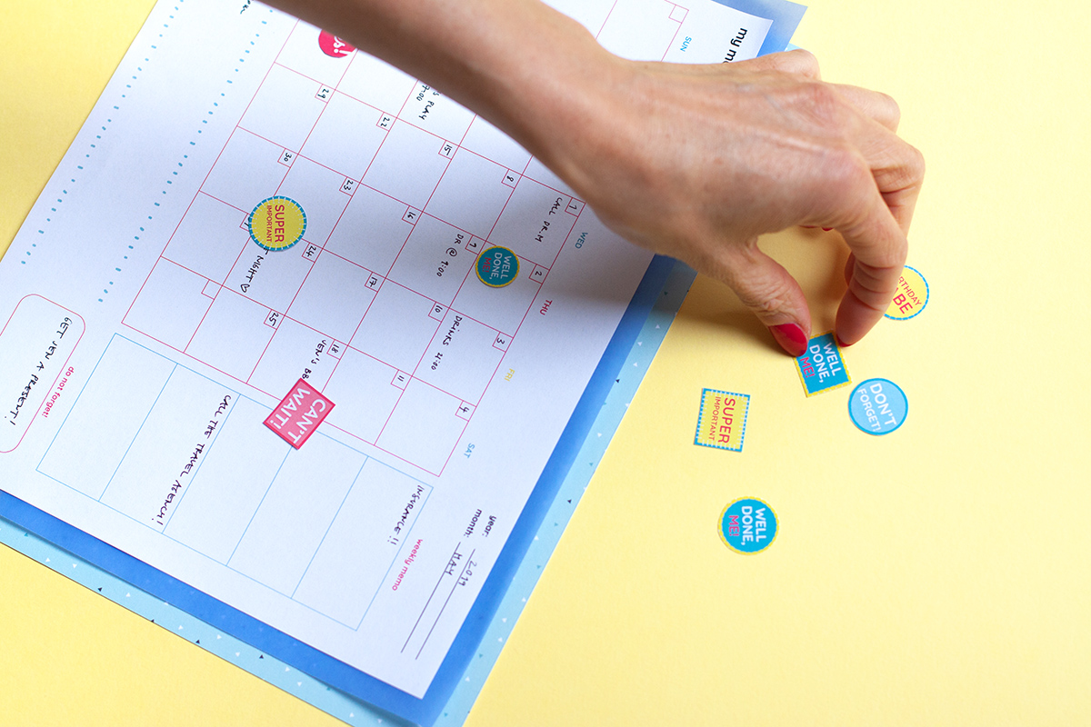 Suggestions for how to use the monthly planner printable