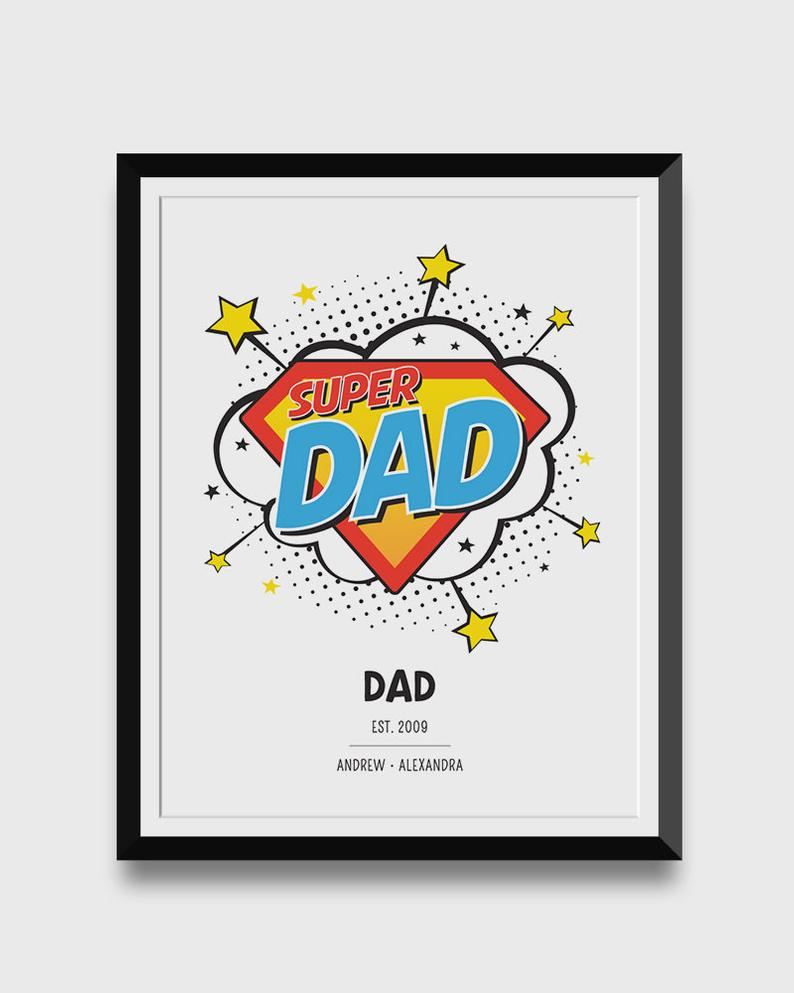 Ideas for Personalized Gifts for Dad from Daugther