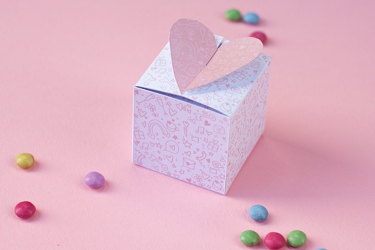 Origami Secret Heart Folding Instructions | 800x1200