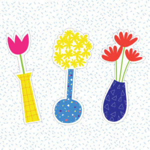 Three floral printable bookmarks