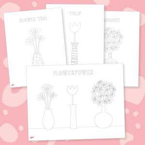 Flowerpower Flower Coloring Pages