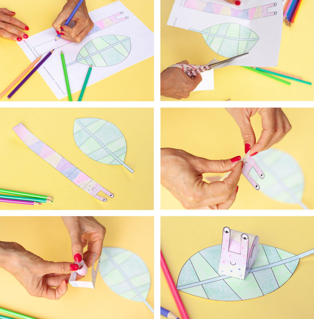 Making paper snail
