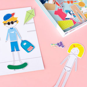Printable Dress Up Paper Dolls Template