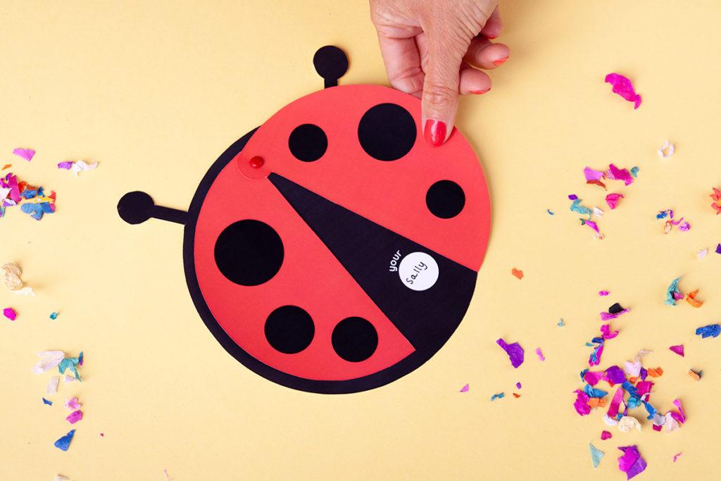 Ladybug bday invites