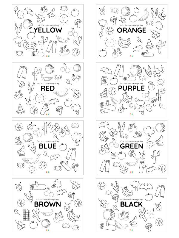 Colors printables