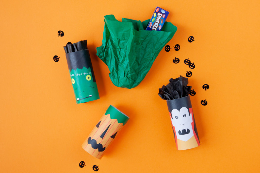 Kids Halloween treat bags