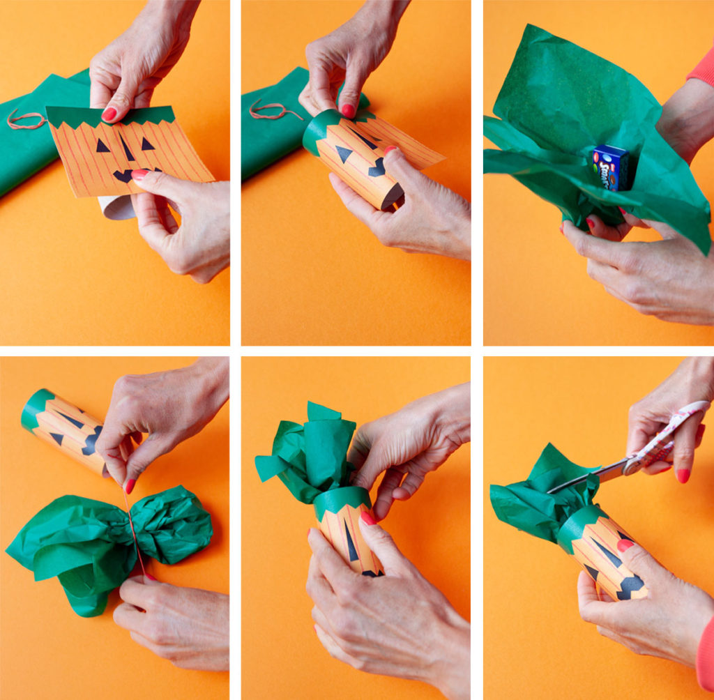 Halloween treat bag how to