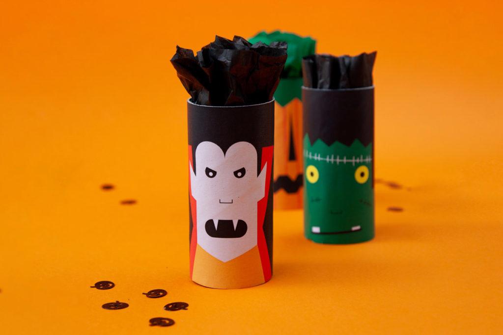 halloween printables kids treat bags