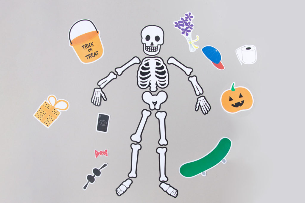 Kids' Halloween printable activity