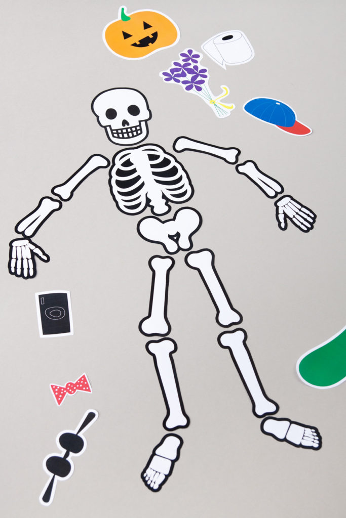 Printable Halloween decoration for kids