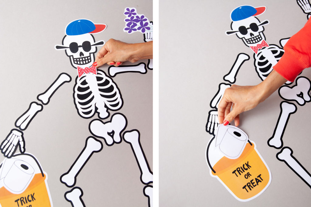 Paper Halloween kids' craft