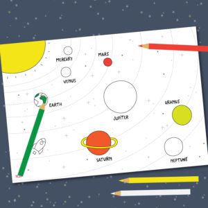 Printable solar system planets in order