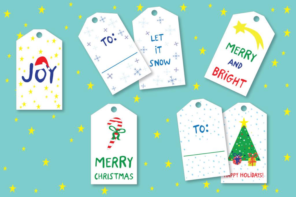 Christmas present tags