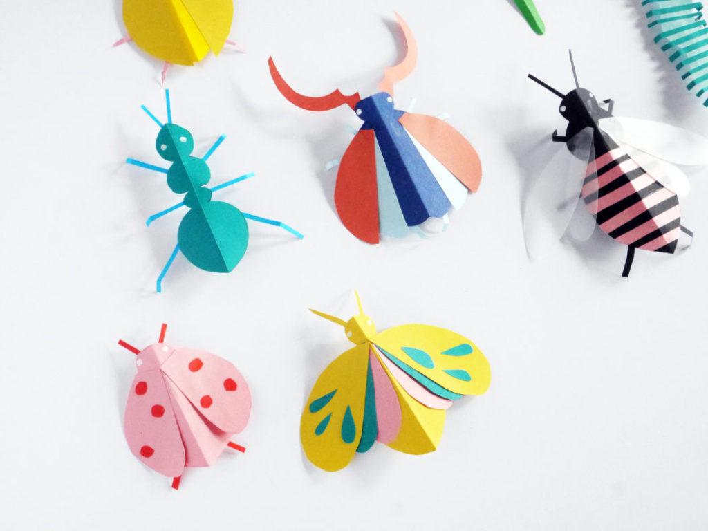Paper Bugs by La Maison de Loulou