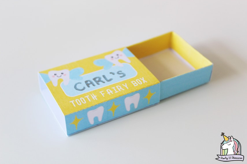 Tooth Fairy Box by Party with Unicorns