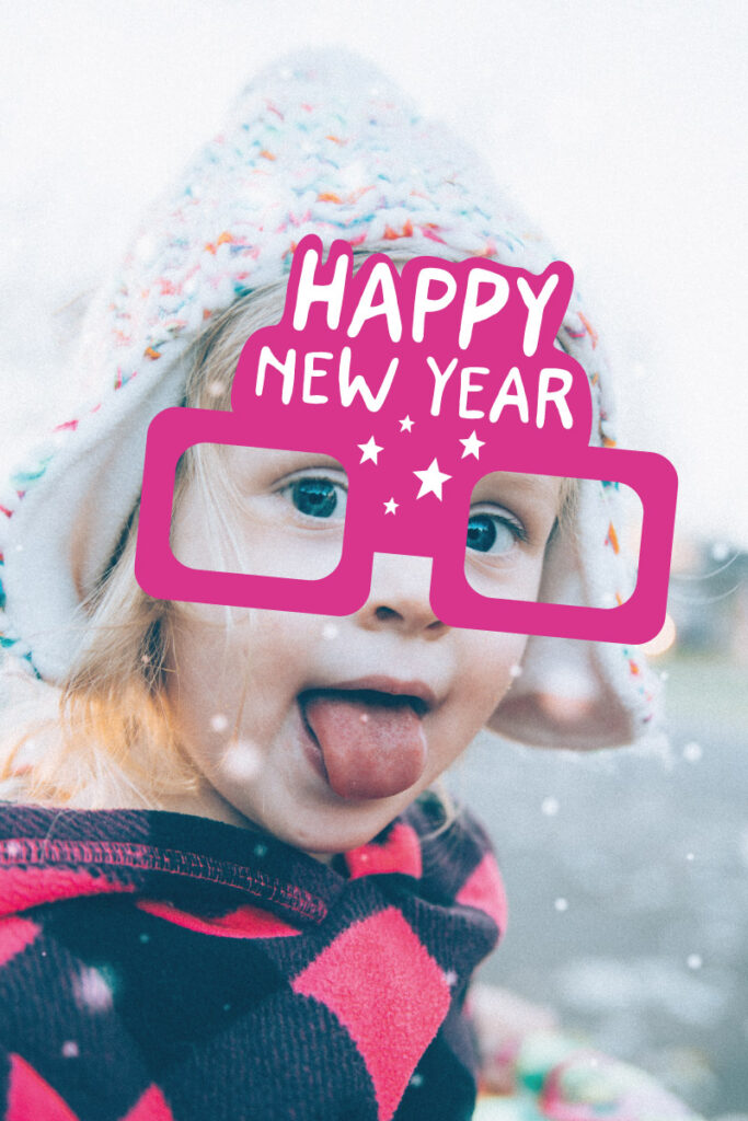 New year party props printable
