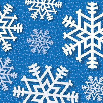 Paper snowflake DIY tutorial