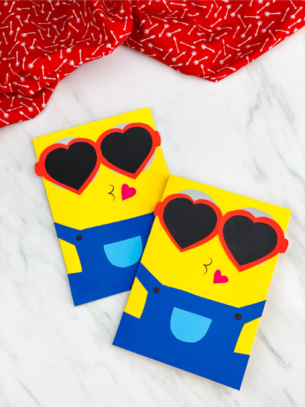 Minion Valentine Card by Simple Everyday Mom